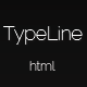 TypeLine - Minimal HTML Theme - ThemeForest Item for Sale