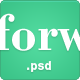 Forward - Creative PSD Template - ThemeForest Item for Sale