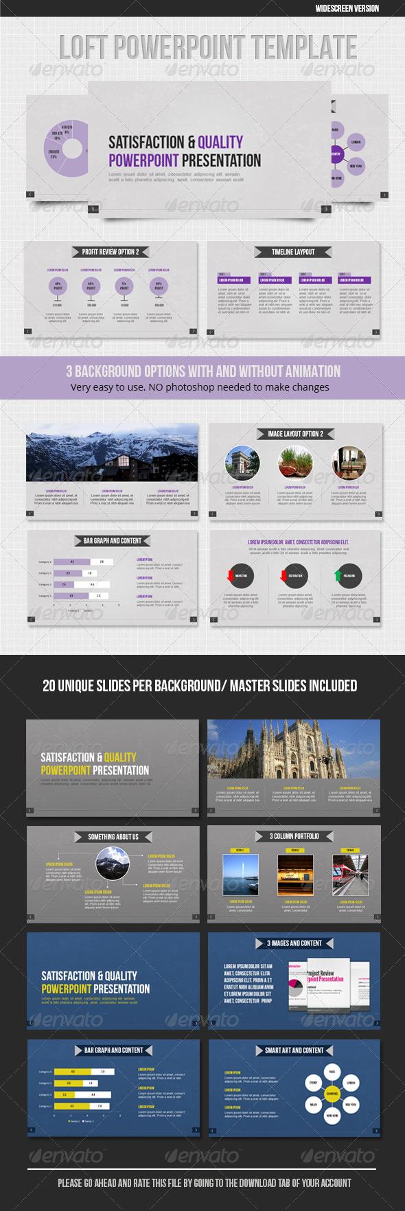 GraphicRiver Loft Powerpoint 1578298