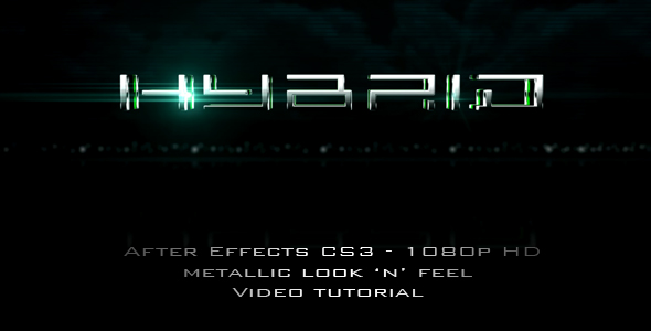 After Effects Project - VideoHive Hybrid 107839