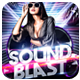 Club Sessions l Sound Blast Party Flyer - GraphicRiver Item for Sale