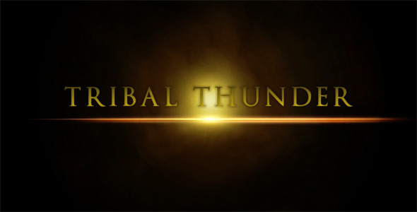 After Effects Project - VideoHive Tribal Thunder Trailer 311499