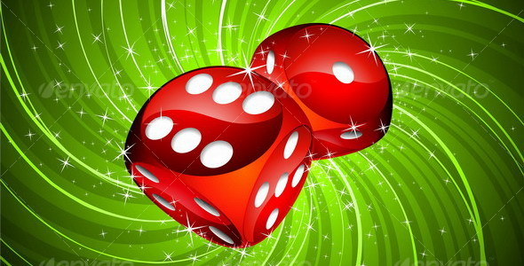 GraphicRiver Casino dices 107691