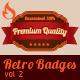 Retro Badges vol 2 - GraphicRiver Item for Sale