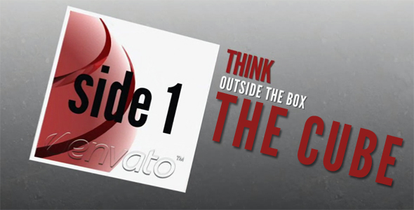 After Effects Project - VideoHive The Cube 108014