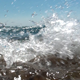 Sea Waves Hitting the Camera Lens - VideoHive Item for Sale