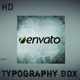 Typography BOX - VideoHive Item for Sale