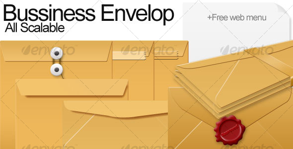 GraphicRiver Bussiness Envelope 108201