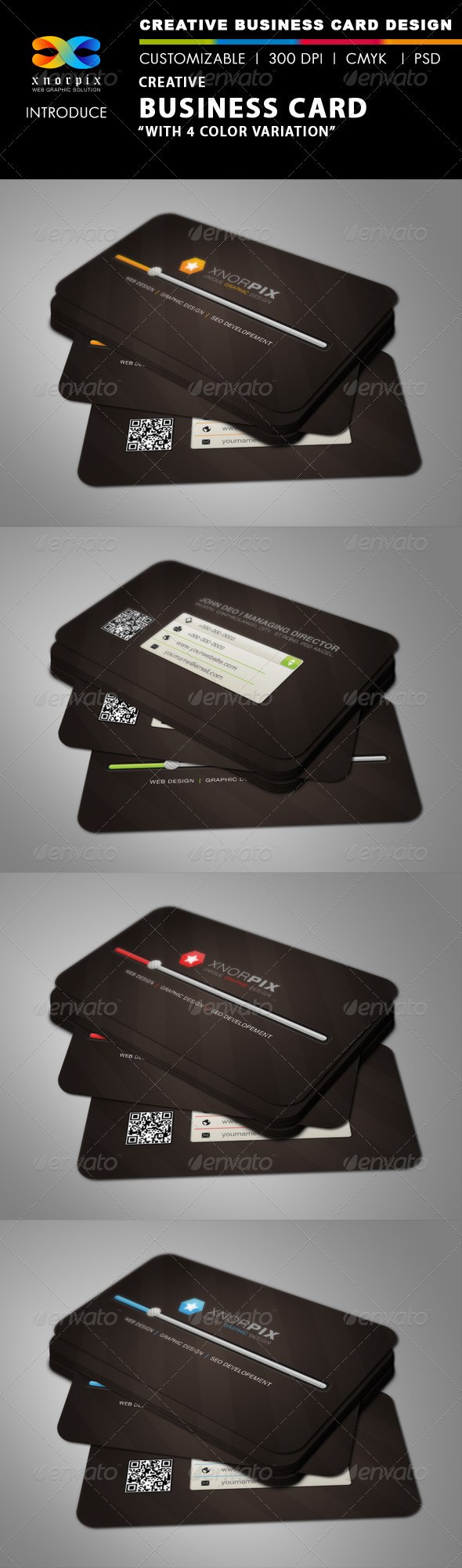 GraphicRiver Creative Business Card 3043502