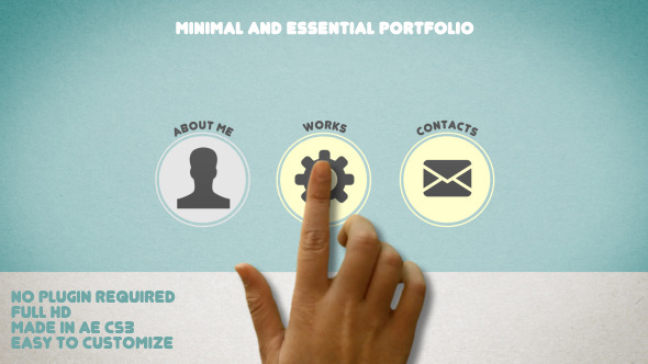 VideoHive Minimal and Essential Portfolio 3046995