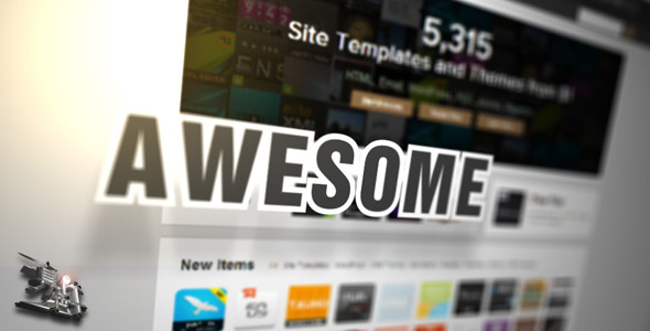 VideoHive website webpage wordpress Promotion 3049240