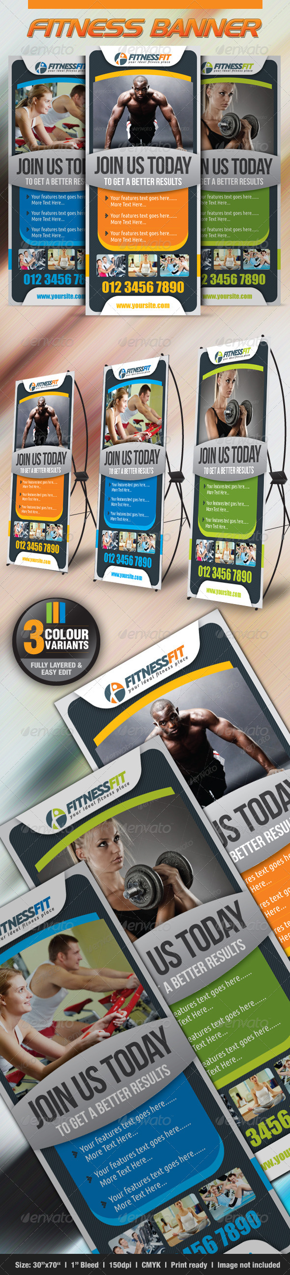 GraphicRiver Fitness Banner 2604083