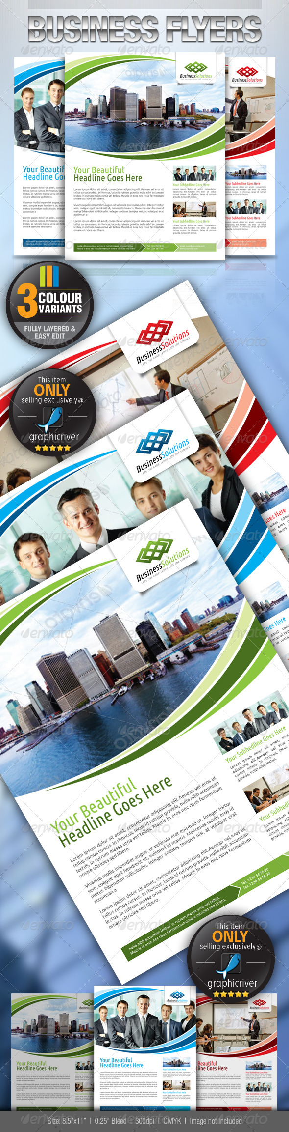 GraphicRiver Business Flyer 2567190