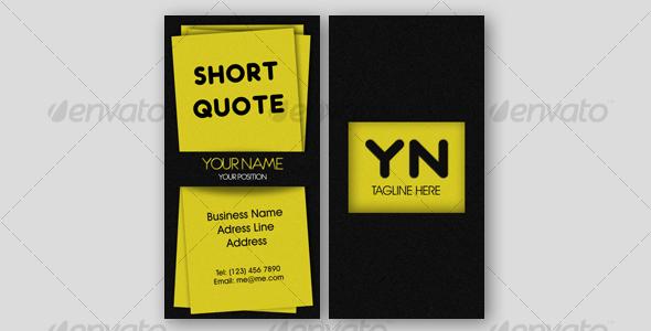 GraphicRiver Creative Business Card 106182