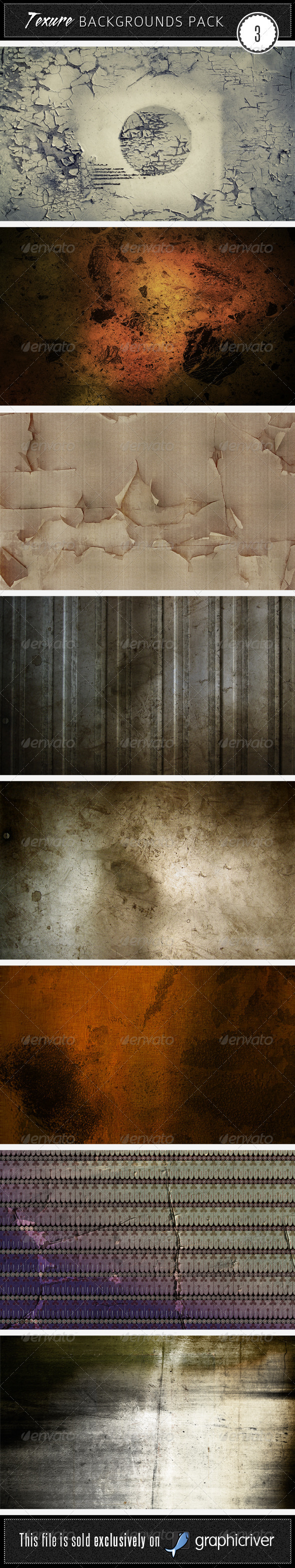 GraphicRiver Texture Backgrounds Pack 3 46213