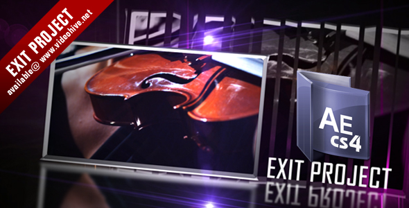 After Effects Project - VideoHive Exit HDV project 108488