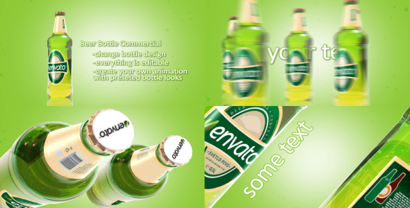 After Effects Project - VideoHive Beer Bottle Commercial 3054608
