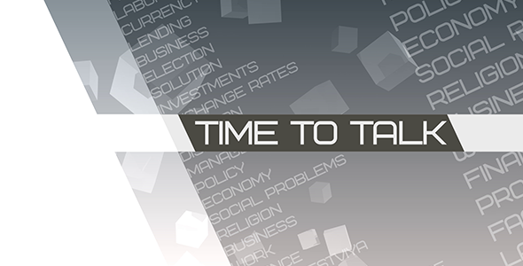 VideoHive Time to talk Broadcast Pack 3055018