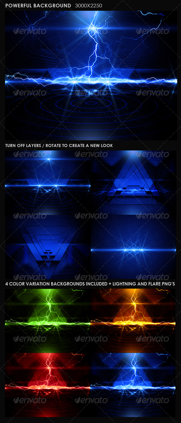 GraphicRiver Powerful Background 108562