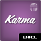 Karma - Clean Modern Corporate Email Template - ThemeForest Item for Sale
