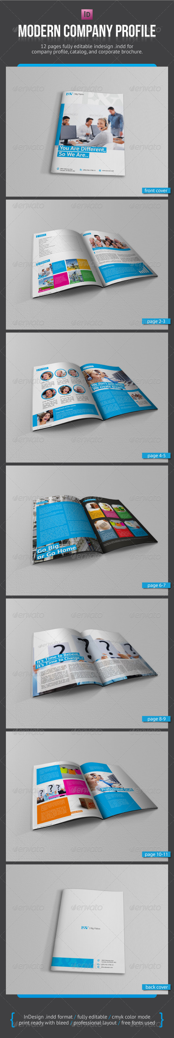GraphicRiver Modern Company Profile 3060011