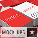 Stack Business Cards Mock-Up - GraphicRiver Item for Sale