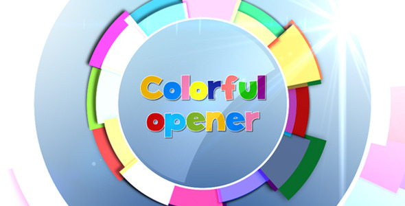 VideoHive Colorful Opener 3063496