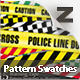 15 Warning Tape Pattern Swatches - GraphicRiver Item for Sale