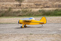 RC yellow airplane on takeoff - PhotoDune Item for Sale