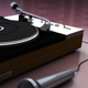 Stylish Turntable and Microphone Set - 3DOcean Item for Sale