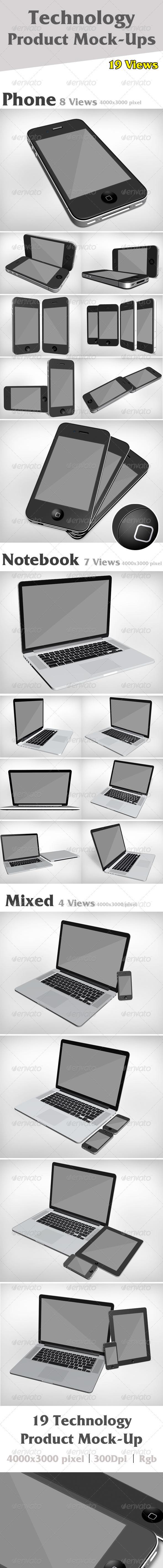 GraphicRiver Product Mock-Ups V1 3067565