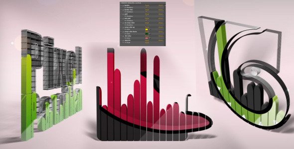 After Effects Project - VideoHive 3D Logo React 3069594