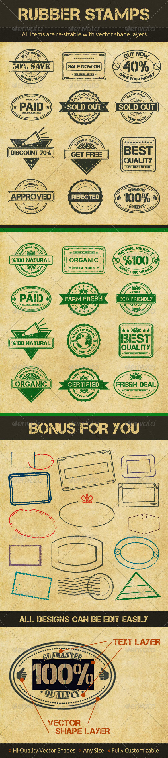 GraphicRiver Selling Rubber Stamps 2604158