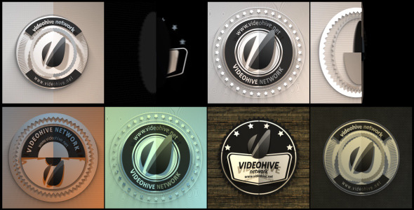 VideoHive Four Retro Badges 3072823