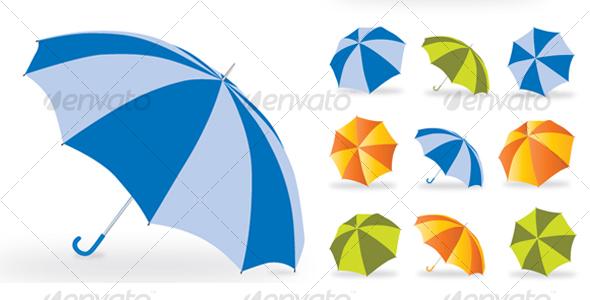 GraphicRiver Umbrella 107413