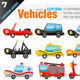 15 Vector Vehicles - GraphicRiver Item for Sale