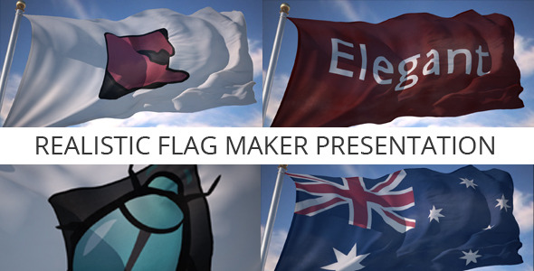 After Effects Project - VideoHive Realistic Flag Maker Presentation 3075352