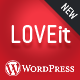 Awesome Wordpress Magazine/blog Theme - LOVEit - ThemeForest Item for Sale