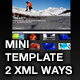 Mini Template - 2 XML ways - ActiveDen Item for Sale