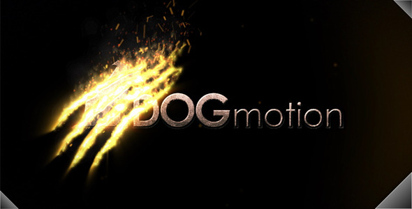 After Effects Project - VideoHive Fire Scratched Logo 3077020