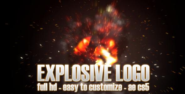 VideoHive Explosive Logo 3079844