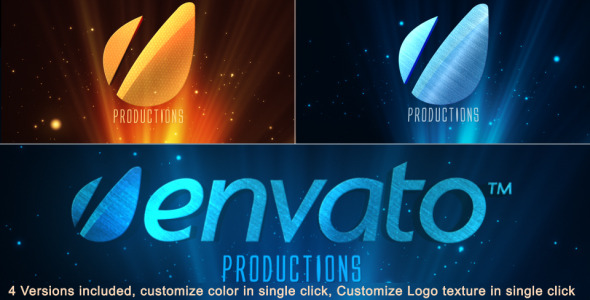 VideoHive Cinematic Rays-Heavenly Logo opener 3064725