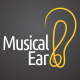 Musical Ear - Logo - GraphicRiver Item for Sale