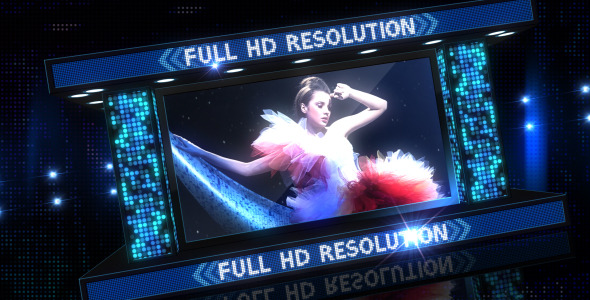 VideoHive Fashion Party LightBox 3080780