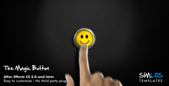 After Effects Project - VideoHive The Magic Button 3089066