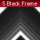 5 Clean Black Frame - GraphicRiver Item for Sale