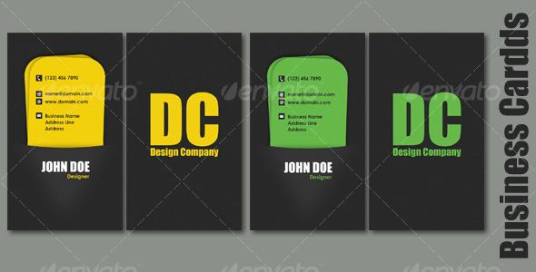 GraphicRiver Pocket Business Card 109579