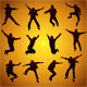 Jumping Silhouettes - GraphicRiver Item for Sale