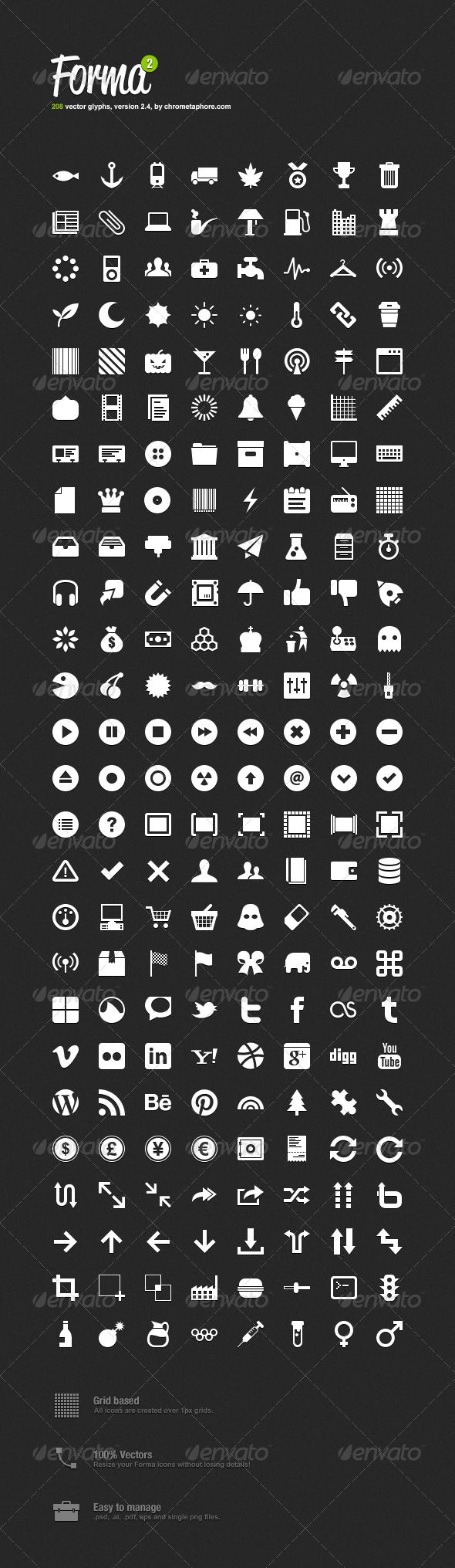 GraphicRiver Forma Icon Pack 2 554858