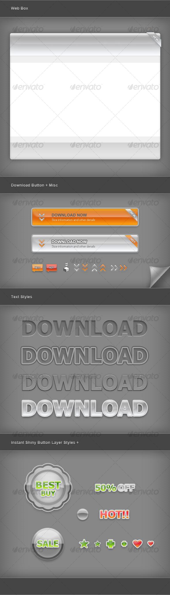 GraphicRiver Web Graphic Elements 01 103561